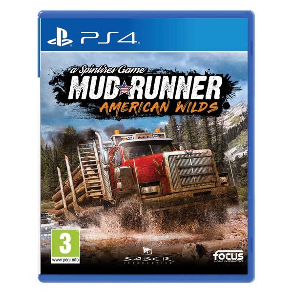 MudRunner: a Spintires Game (American Wilds Edition) [PS4] - BAZÁR (použitý tovar)