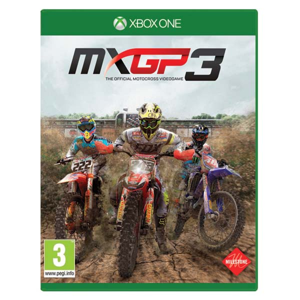 MXGP 3: The Official Motocross Videogame XBOX ONE