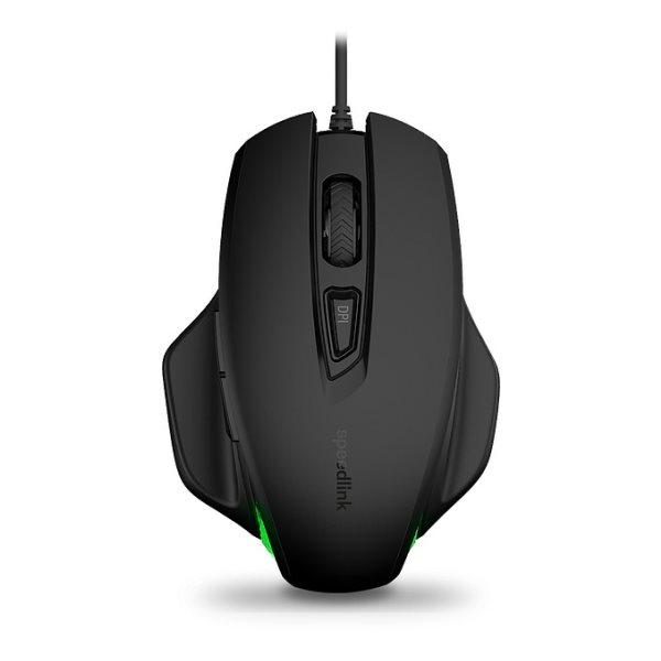 Myš Speedlink Garrido Illuminated Mouse, èierna