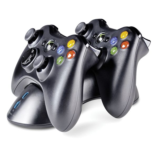 Nabíjaèka Speedlink Bridge USB Charging System pre Xbox 360 Gamepad