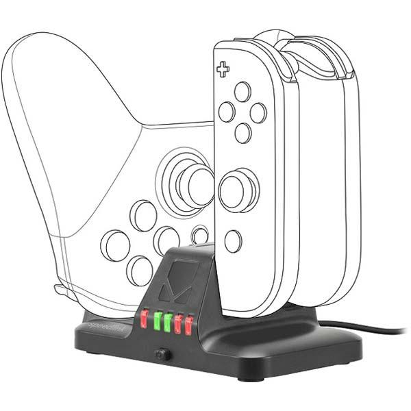 Nabíjaèka Speedlink Quad Multi-Charger pre Nintendo Switch