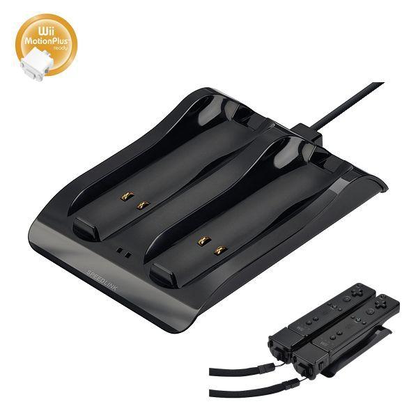 Nabíjaèka Speedlink Wave USB Charging System Plus pre Wii U/ Wii