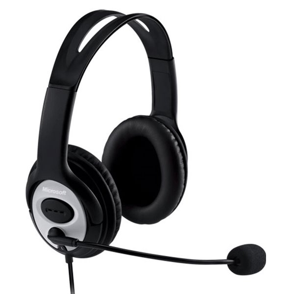 Náhlavné slúchadlá Microsoft headset LifeChat LX-3000 USB