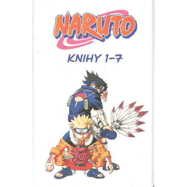 Naruto 1-7 Box komiks