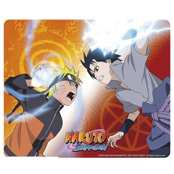 Naruto Shippuden Mousepad - Naruto vs Sasuke