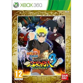 Naruto Shippuden Ultimate Ninja Storm 3: Full Burst [XBOX 360] - BAZ�R (pou�it� tovar)