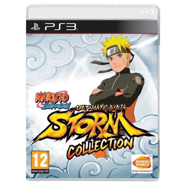 Naruto Shippuden Ultimate Ninja Storm Collection [PS3] - BAZÁR (použitý tovar)