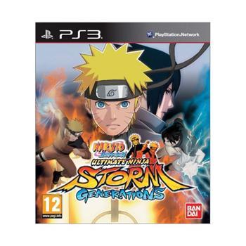 Naruto Shippuden: Ultimate Ninja Storm Generations [PS3] - BAZÁR (použitý tovar)