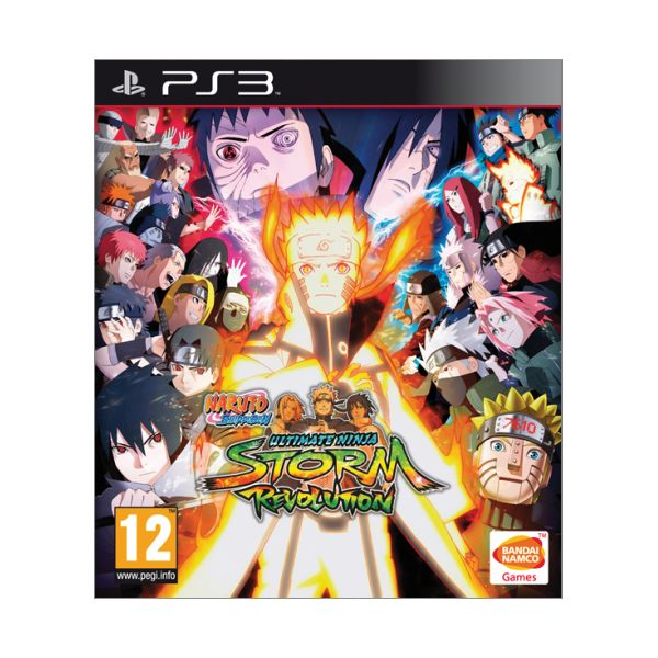 Naruto Shippuden: Ultimate Ninja Storm Revolution [PS3] - BAZÁR (použitý tovar)