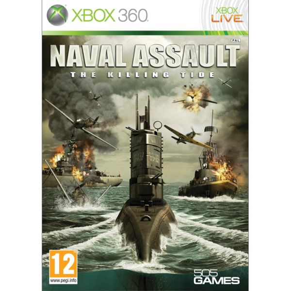 Naval Assault: The Killing Tide XBOX 360