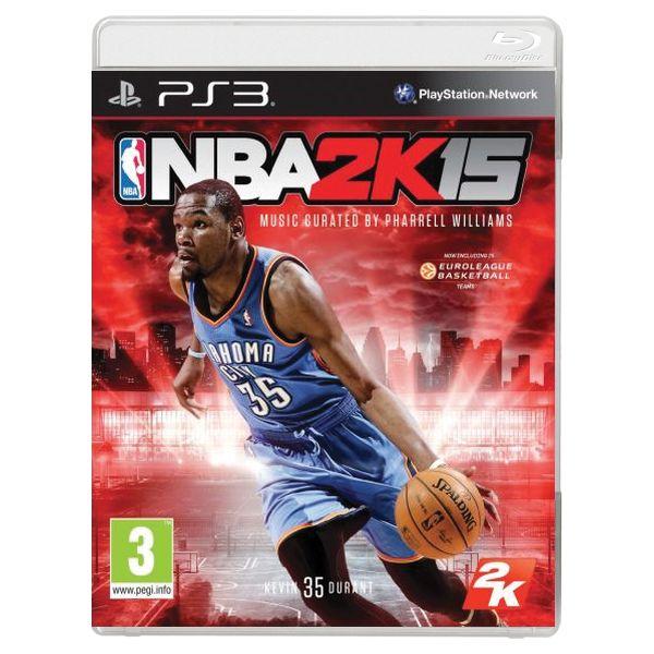 NBA 2K15 [PS3] - BAZÁR (použitý tovar)