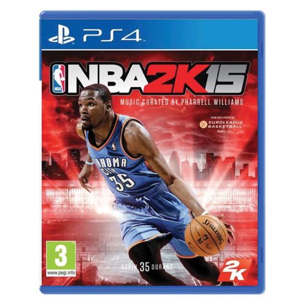 NBA 2K15 [PS4] - BAZÁR (použitý tovar)