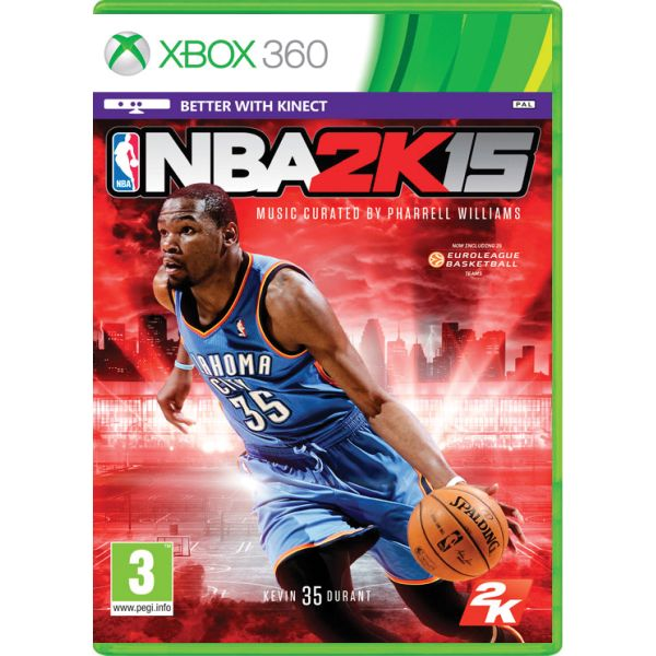 NBA 2K15 [XBOX 360] - BAZÁR (použitý tovar)
