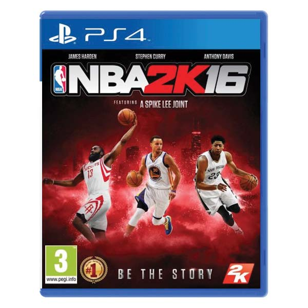 NBA 2K16 [PS4] - BAZÁR (použitý tovar)