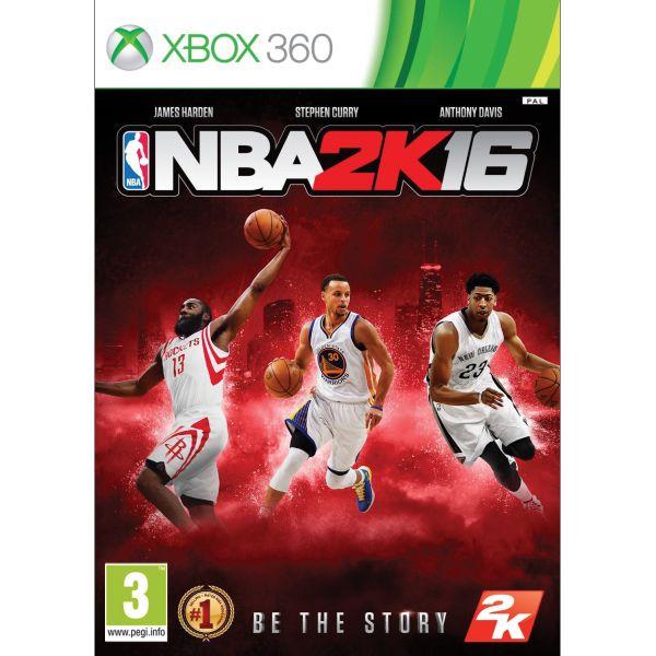 NBA 2K16 [XBOX 360] - BAZÁR (použitý tovar)