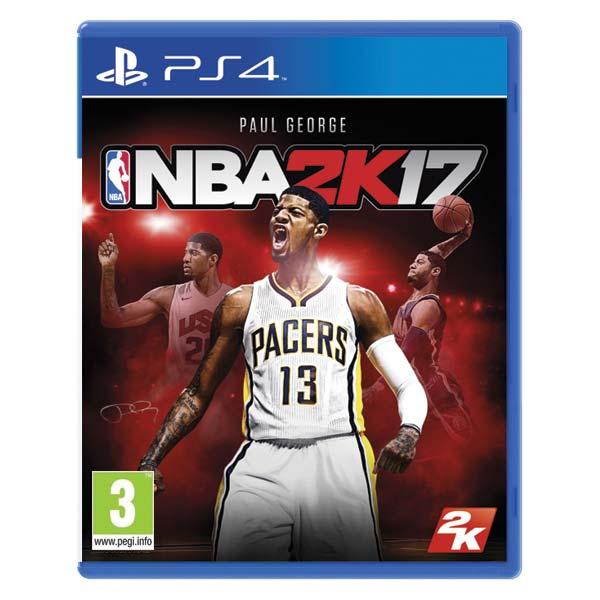 NBA 2K17 [PS4] - BAZÁR (použitý tovar)