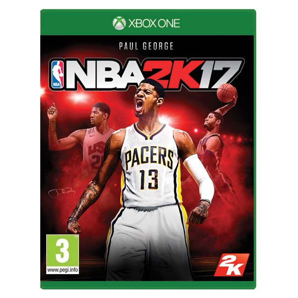 NBA 2K17 [XBOX ONE] - BAZÁR (použitý tovar)