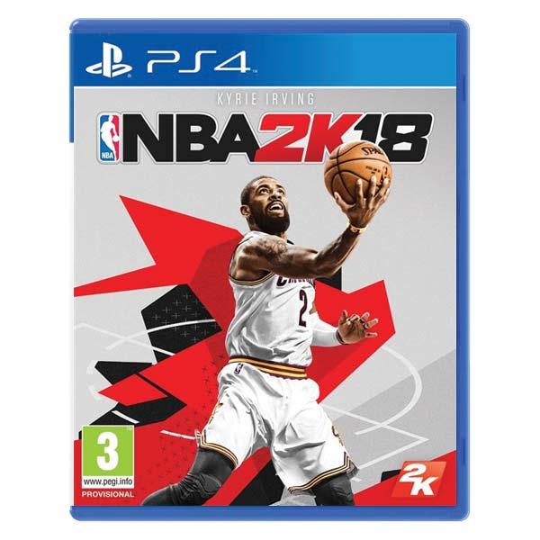 NBA 2K18 [PS4] - BAZÁR (použitý tovar)