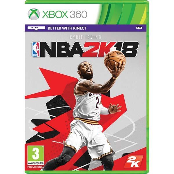 NBA 2K18 [XBOX 360] - BAZÁR (použitý tovar)