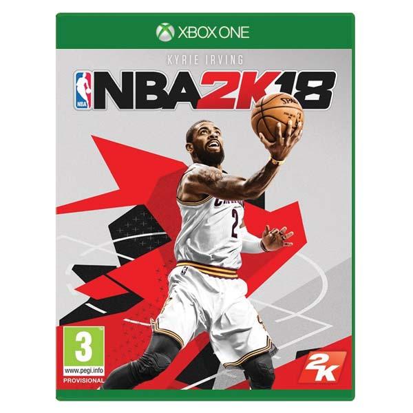 NBA 2K18 [XBOX ONE] - BAZÁR (použitý tovar)