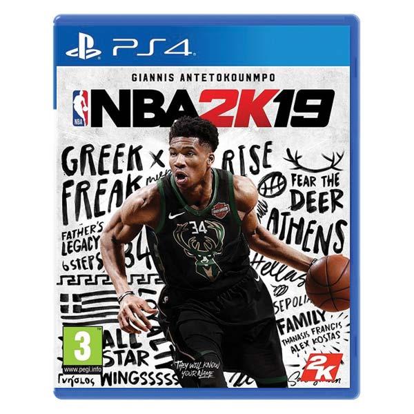 NBA 2K19 [PS4] - BAZÁR (použitý tovar)