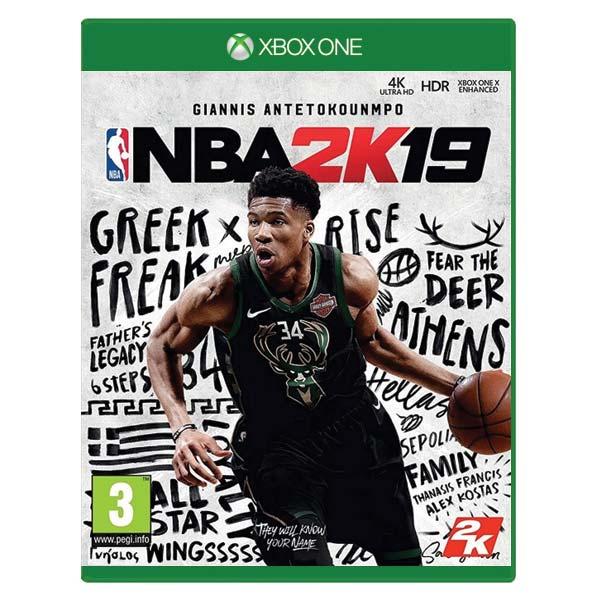 NBA 2K19 [XBOX ONE] - BAZÁR (použitý tovar)