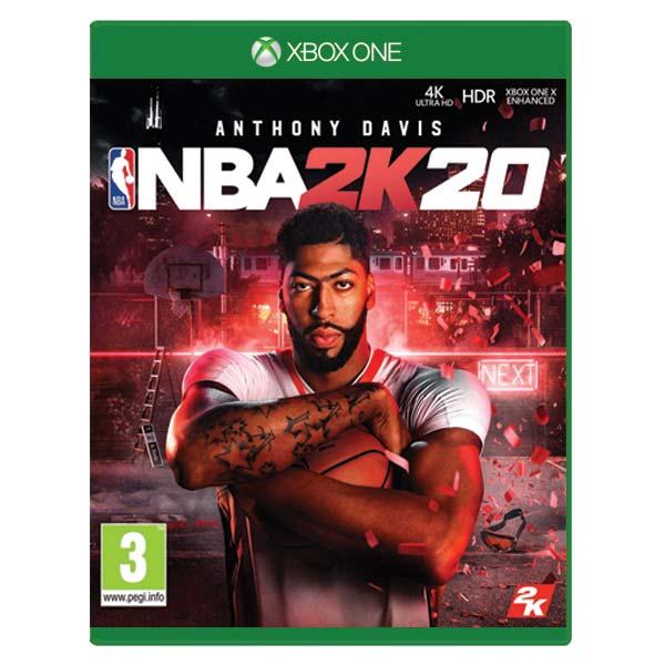 NBA 2K20 [XBOX ONE] - BAZÁR (použitý tovar)