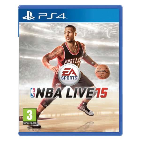 NBA Live 15 [PS4] - BAZÁR (použitý tovar)