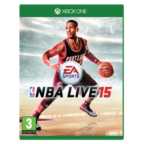 NBA Live 15 [XBOX ONE] - BAZÁR (použitý tovar)