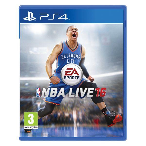 NBA Live 16 [PS4] - BAZÁR (použitý tovar)