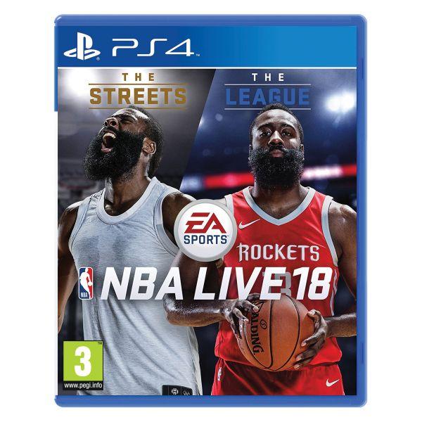 NBA Live 18 [PS4] - BAZÁR (použitý tovar)