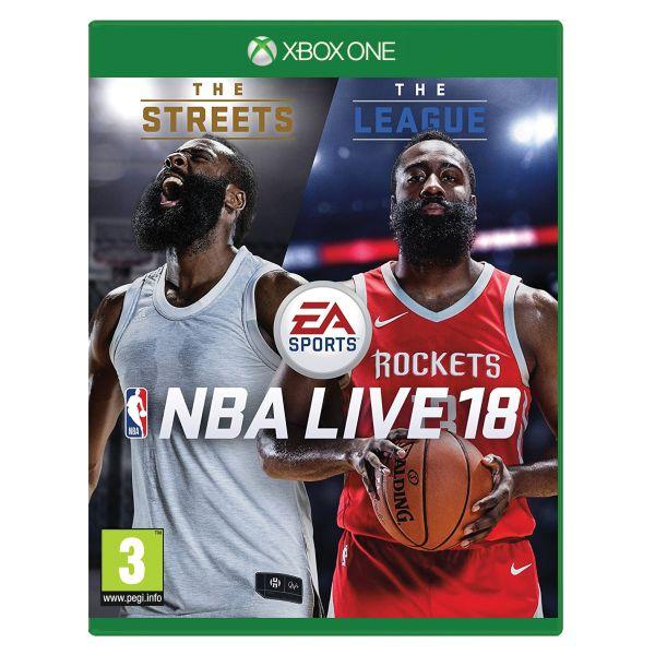 NBA Live 18 [XBOX ONE] - BAZÁR (použitý tovar)