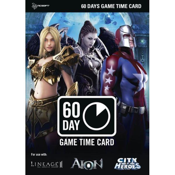 NCSoft 60 denná predplatná herná karta