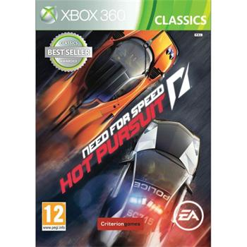 Need for Speed: Hot Pursuit- XBOX 360- BAZ�R (pou�it� tovar)