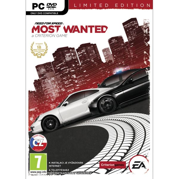 Need for Speed: Most Wanted CZ (Limited Edition)