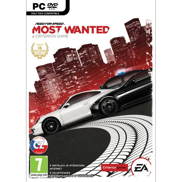 Need for Speed: Most Wanted CZ