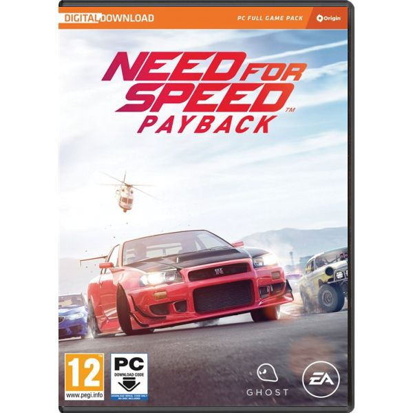 Need for Speed: Payback PC Code-in-a-Box CD-key