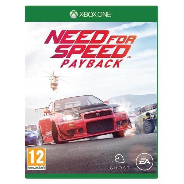 Need for Speed: Payback [XBOX ONE] - BAZÁR (použitý tovar)