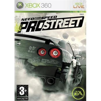 Need for Speed: ProStreet- XBOX 360- BAZÁR (použitý tovar)