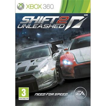 Need for Speed Shift 2: Unleashed- XBOX 360- BAZÁR (použitý tovar)