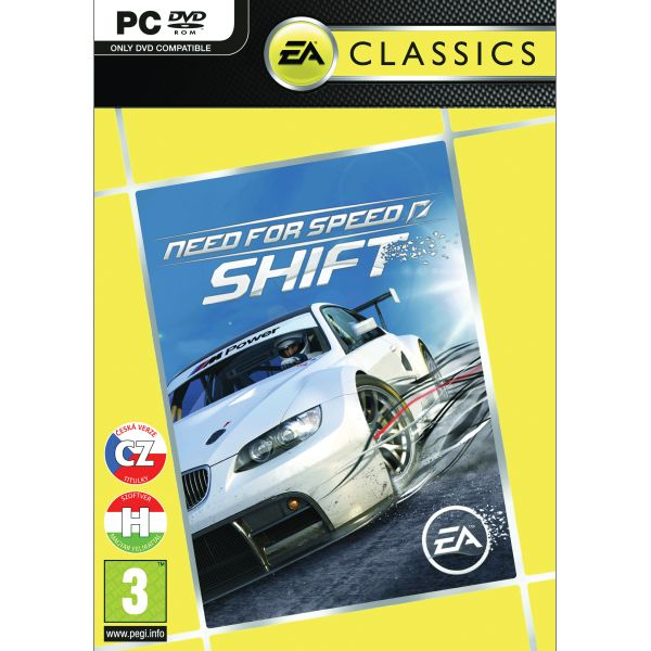 Need for Speed: Shift CZ PC CD-key