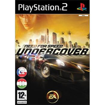 Need for Speed: Undercover CZ [PS2] - BAZ�R (pou�it� tovar)