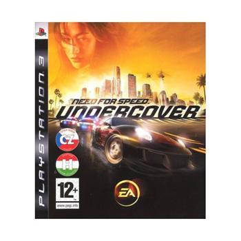 Need for Speed: Undercover CZ- PS3 - BAZÁR (použitý tovar)