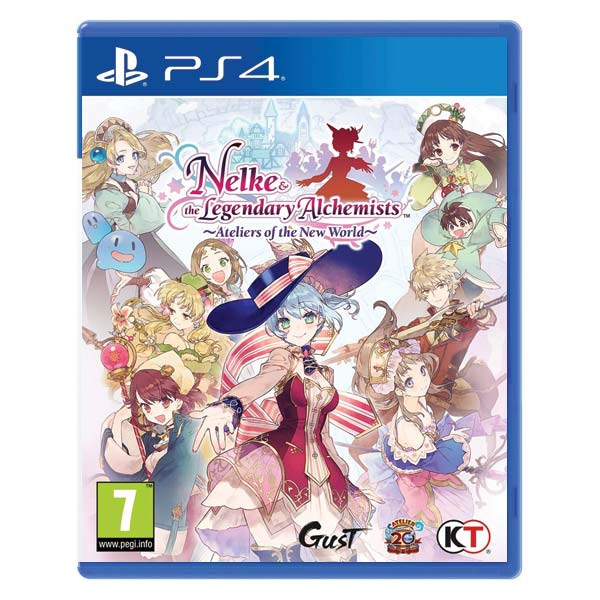 Nelke & the Legendary Alchemists: Ateliers of the New World PS4
