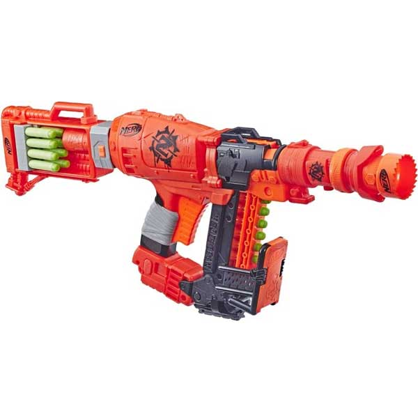 Nerf Nailbiter Zoom and Doom Zombie Strike Blaster