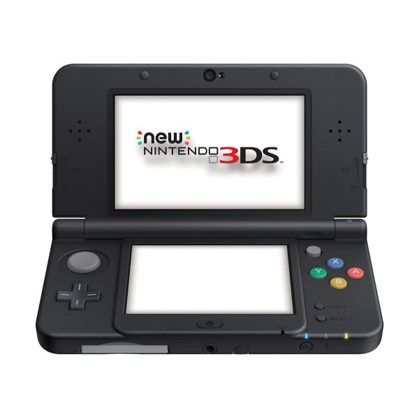 New Nintendo 3DS, black