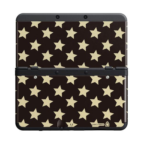 New Nintendo 3DS Cover Plates, black stars