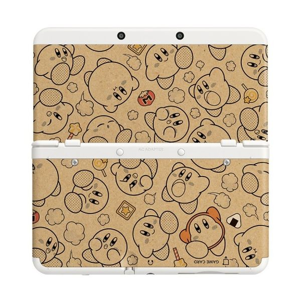 New Nintendo 3DS Cover Plates, Kirby