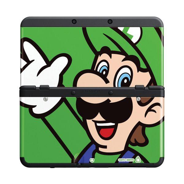 New Nintendo 3DS Cover Plates, Luigi