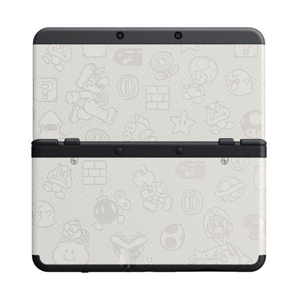 New Nintendo 3DS Cover Plates, Mario white